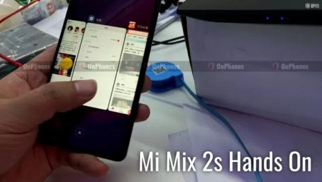 Xiaomi Mi Mix 2S leaked Hands On Video is fake